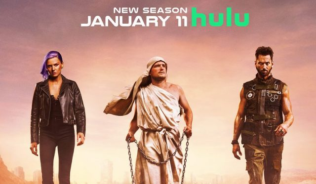New Future Man Season 2 Poster Reveals the Best and Worst Timelines