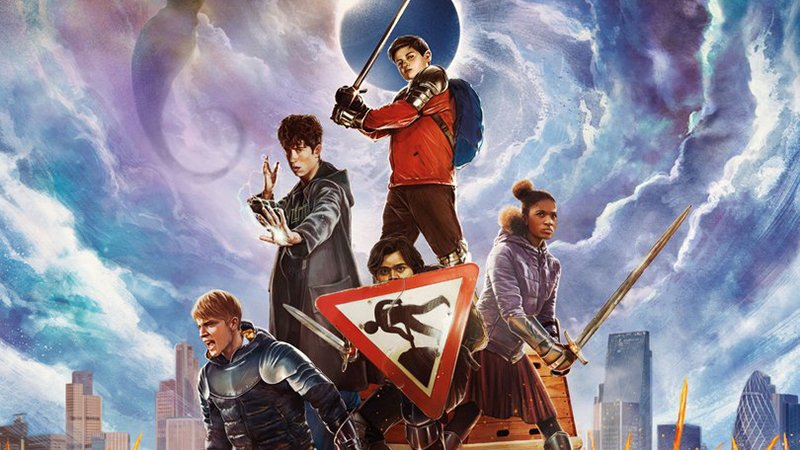 Slaying Evil Armies in The Kid Who Would Be King Poster
