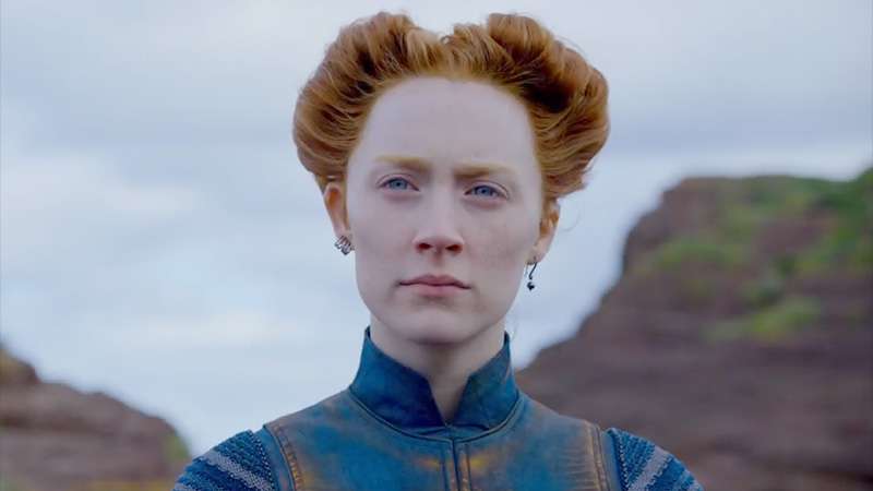 New Mary Queen of Scots Trailer Claims Her Crown