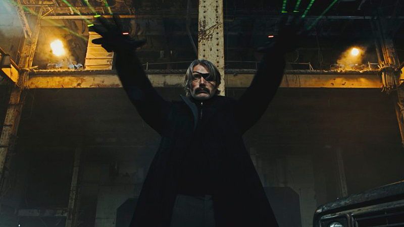 First Look at Mads Mikkelsen in Polar Adaptation Released