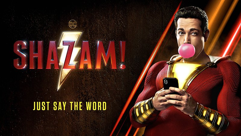Zachary Levi Shares New Shazam Poster: Just Say the Word