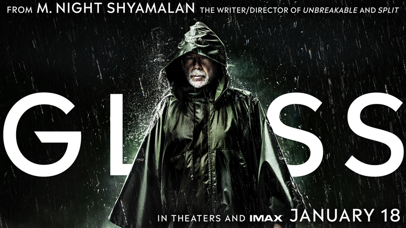 Glass: new banner posters