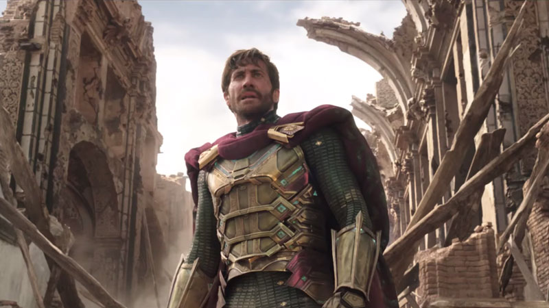 Far From Home trailer screenshots reveal Mysterio