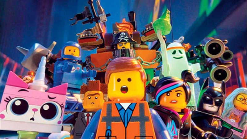 cast of The LEGO Movie 2