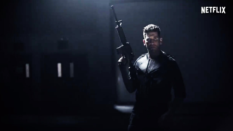 latest trailer for The Punisher