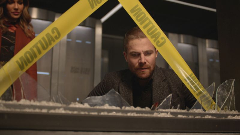 New Photos from Arrow's Midseason Premiere, Shattered Lives