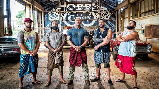 Meet Hobbs' Brothers in New Hobbs & Shaw Set Photo