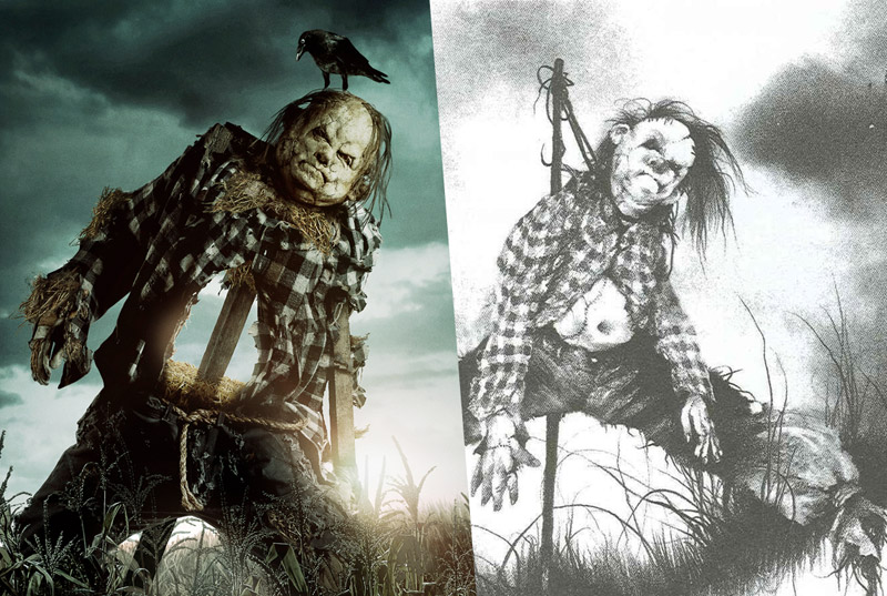 Scary Stories to Tell in the Dark Poster Captures the Books