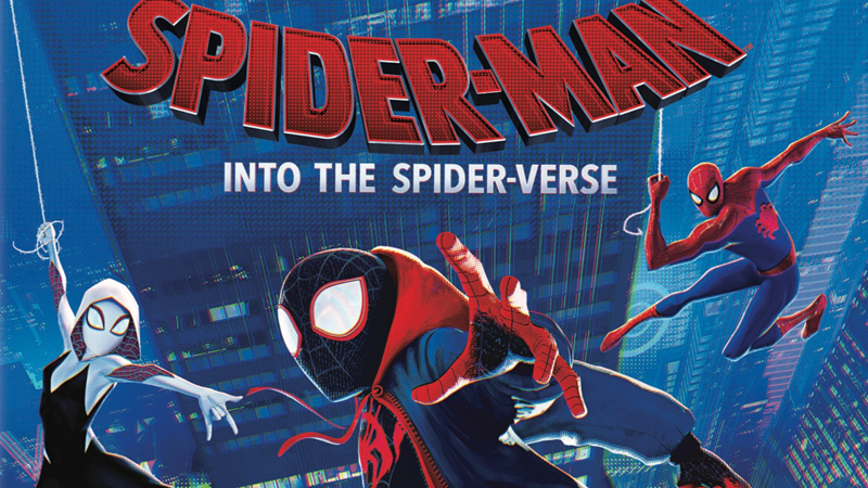 Into the Spider-Verse digital and Blu-Ray