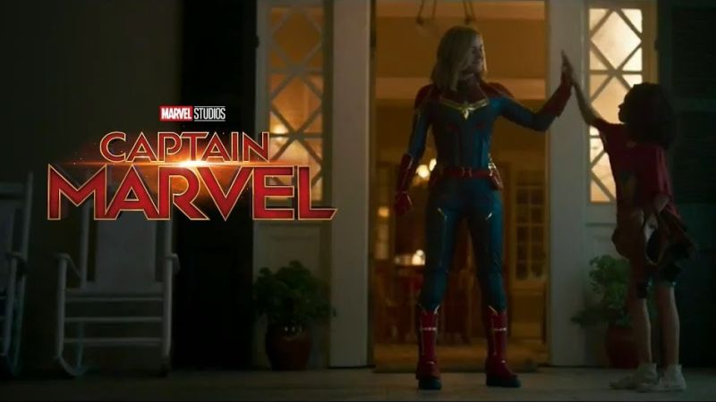 Captain Marvel Gets A Lighthearted Tone in New TV Spot