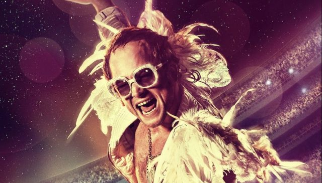 Taron Egerton is Ready to Wow the Crowd in New Rocketman Poster