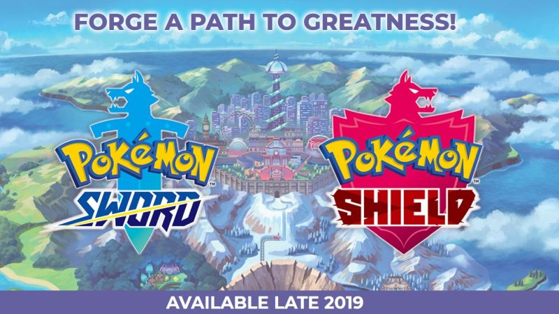 Pokémon Sword and Shield Announced for Nintendo Switch!