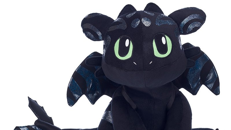 Special Edition Hidden World Toothless Arrives at Build-A-Bear