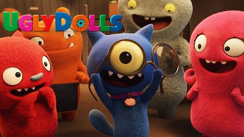 UglyDolls Trailer 2: What Happens to the Dolls Who Aren't so Perfect?