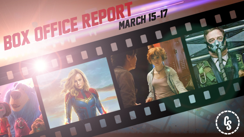 Captain Marvel Goes Higher Than the Rest of the Box Office, Still #1