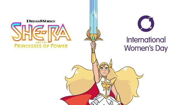 She-Ra Celebrates International Women's Day in a New Powerful Video