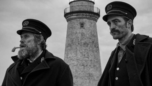 The Lighthouse Photo Features Willem Dafoe and Robert Pattinson