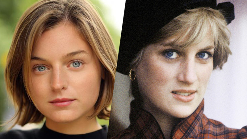 Newcomer Emma Corrin to Play Princess Diana in The Crown