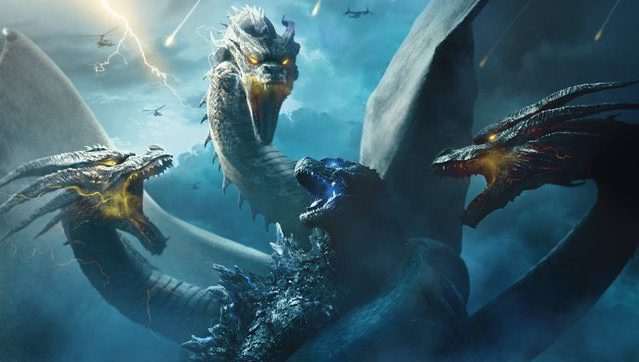 Ghidorah Overpowers Godzilla in New King of the Monsters Poster