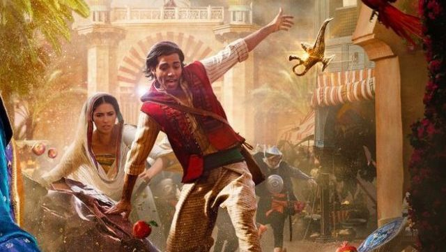 New Aladdin TV Spots and Poster Reveal Chaos at the Market