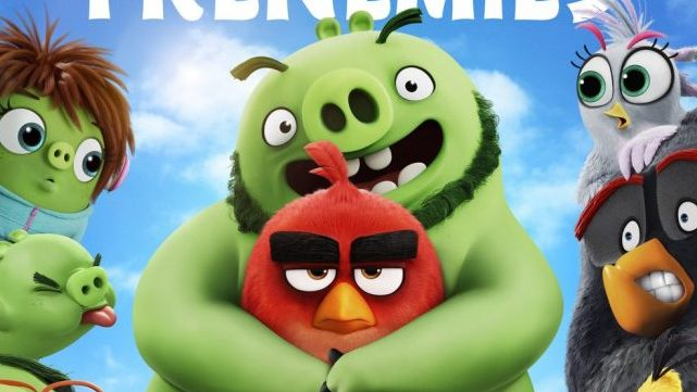 Birds and Pigs are Frenemies in New The Angry Birds Movie 2 Poster
