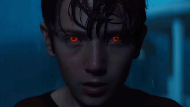Don't Get Stuck in the Middle of the Road in New Brightburn Clip