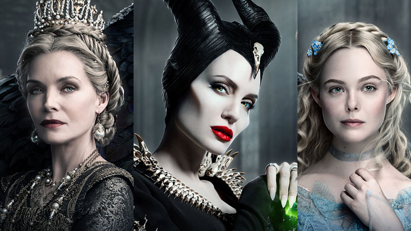 Maleficent: Mistress of Evil triptych poster