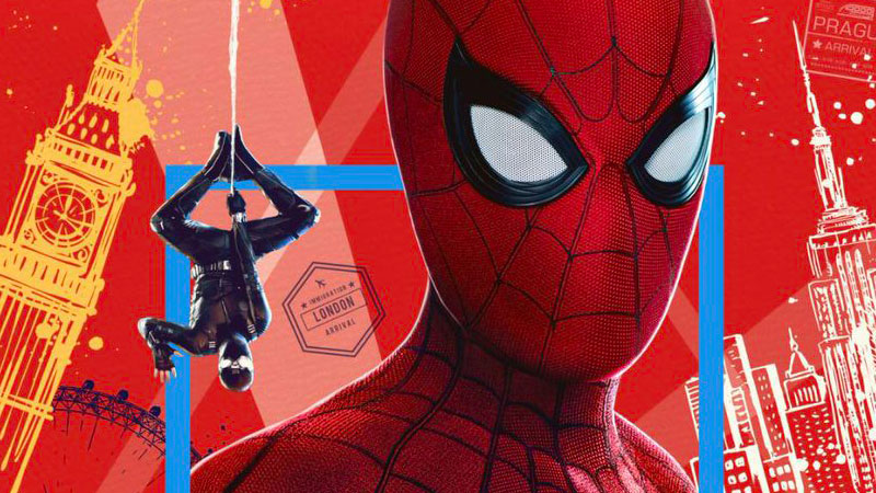Spider-Man: Far From Home IMAX poster