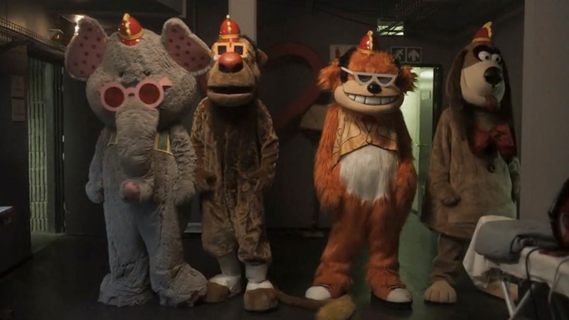 The Banana Splits Trailer: The (Bloody) Show Must Go On