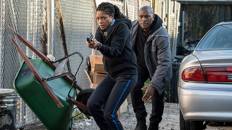 Black and Blue Photos: Naomie Harris & Tyrese Gibson Star in the Action Thriller