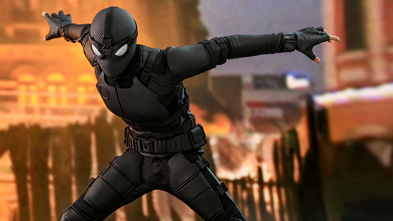 Spider-Man: Far From Home Hot Toys Stealth Suit Collectible Figure Revealed