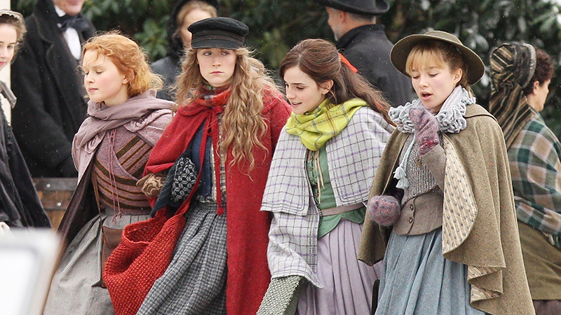 New Little Women First Look Photos Released for Sony's Movie Adaptation