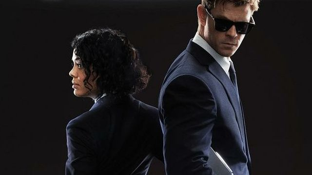 Men in Black International Posters with Hemsworth and Thompson