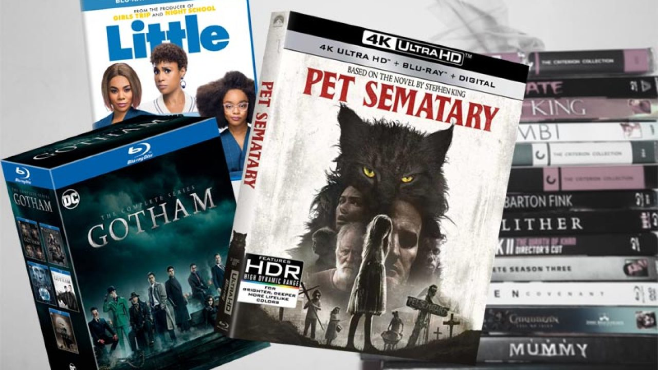 July 9 Blu-ray, Digital and DVD Releases