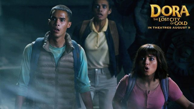 Dora Gets Trapped in an Ancient Aqueduct in The Lost City of Gold Clip