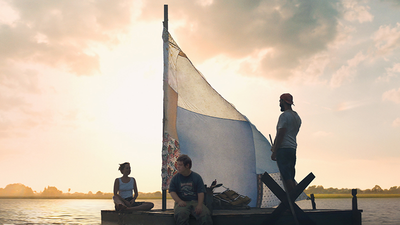 Shia LaBeouf is on an Adventure in The Peanut Butter Falcon Poster
