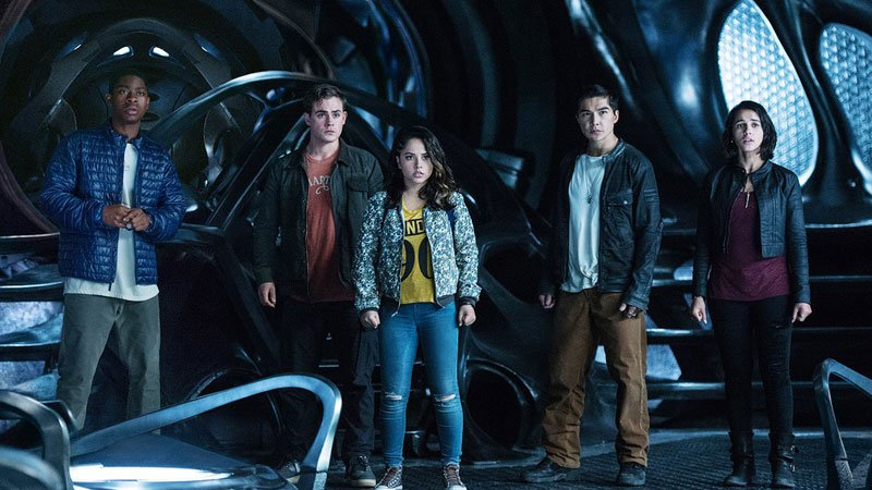 Power Rangers being rebooted