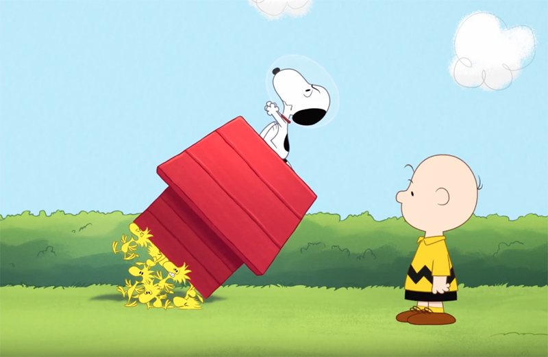 Snoopy in Space Sends the Peanuts Beagle Into Orbit