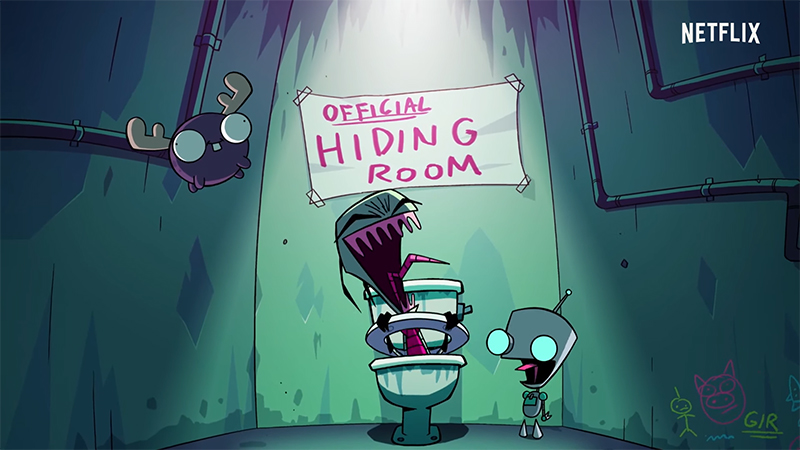 Invader Zim is Up To No Good in Enter the Florpus Teaser