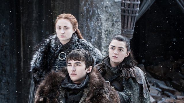 Game of Thrones Prequel Set Photos Reveal Starks' First House Sigil