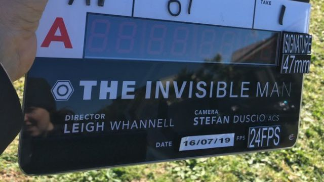 Production Begins on New The Invisible Man