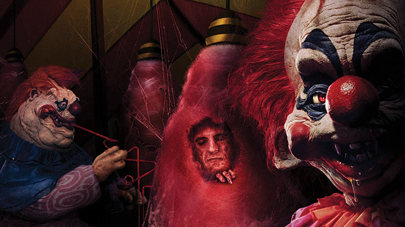 Killer Klowns from Outer Space Invading Halloween Horror Nights 2019