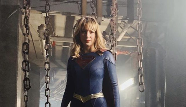 First Look at Supergirl's Upgraded Suit Revealed in New Set Photo