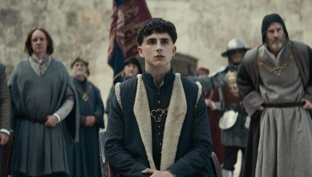 Netflix's The King Photo Features Timothée Chalamet as King Henry V