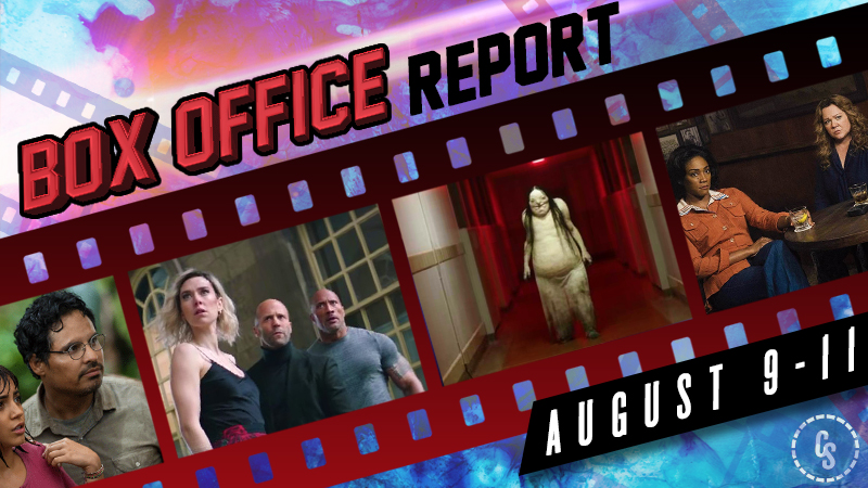 Hobbs & Shaw Remains #1, Scary Stories Exceeds Expectations