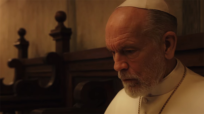 John Malkovich Leads the Church in The New Pope Teaser