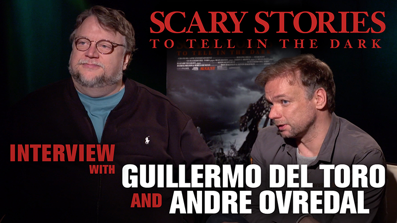 CS Video: Guillermo del Toro & André Øvredal Talk Scary Stories