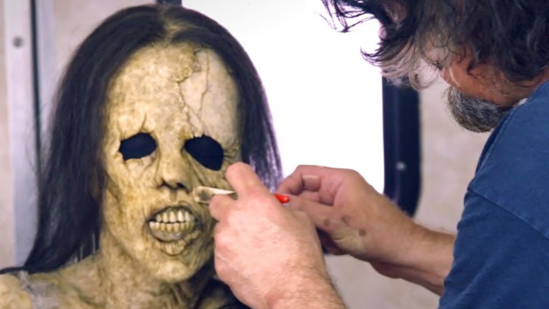 Scary Stories to Tell in the Dark Featurette Highlights Monster Makeup Timelapse
