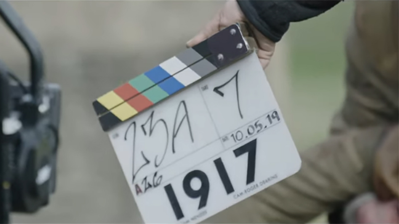 1917 Behind-the-Scenes Featurette Looks at One-Shot War Epic
