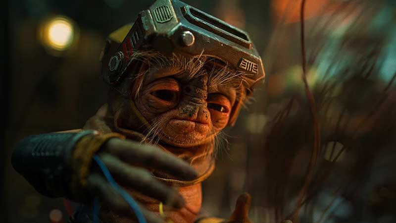 First Look at Babu Frik in Star Wars: The Rise of Skywalker Released!